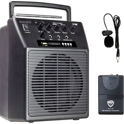 Nady WA-120BT LT/O Portable VHF Wireless PA & Lavalier System with Bluetooth (A: 171.905 MHz)