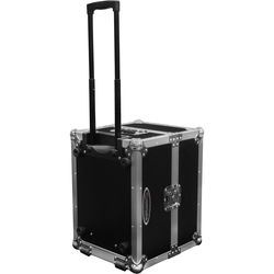 Odyssey Innovative Designs Flight Zone Photo Booth Printer Case with Pullout Handle and Wheels (Black)