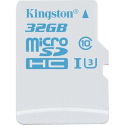 Kingston 32GB Action Camera UHS-I microSDHC Memory Card (U3)