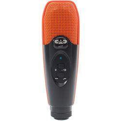 CAD U37 USB Studio Condenser Recording Microphone (Orange/Black)