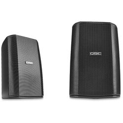 QSC AD-S32T AcousticDesign Surface Mount Speakers (Pair, Black)