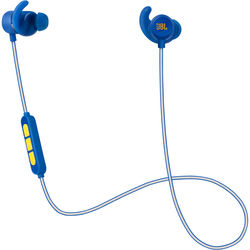 JBL Reflect Mini BT Stephen Curry Signature Edition Sports Headphone (Blue & Gold)