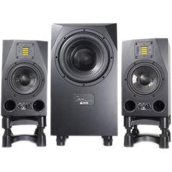Adam Professional Audio A7X Nearfield Monitors (Pair) and Sub10 MK2 Subwoofer Speaker Bundle