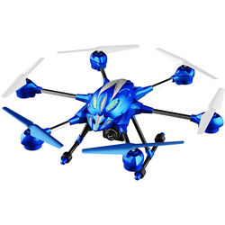 Riviera RC Pathfinder 5.8 GHz FPV Hexacopter Drone (Large, Blue)