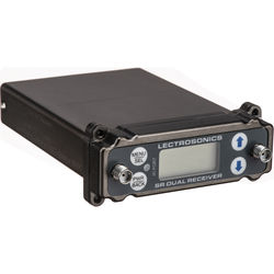 Lectrosonics SRc Dual-Channel Slot-Mount ENG Receivers (A1: 470.100 to 537.575 MHz)