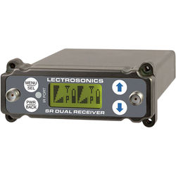 Lectrosonics SRc Dual-Channel Slot-Mount ENG Receiver (C1: 614.400 to 691.175 MHz)