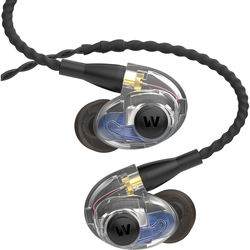 Westone AM Pro20 Dual-Driver Universal Ambient-Port In-Ear Monitors (Clear/Black)