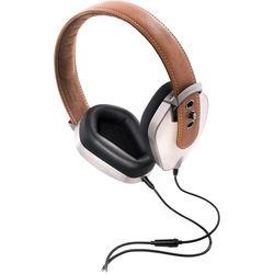Pryma Leather & Aluminum Headphones (Coffee & Cream)