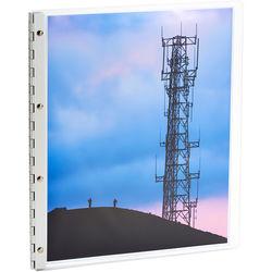 "Pina Zangaro Flexx Presentation Book (14 x 11"", Ice)"