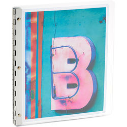 "Pina Zangaro Flexx Presentation Book (11 x 8.5"", Ice)"