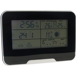 BrickHouse Security 5MP Wireless Hidden Camera with Digital Weather Clock Housing