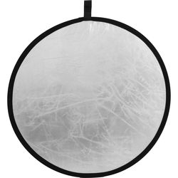 """ExpoImaging Rogue Collapsible 2-in-1 Reflector (32"""", Silver/White)"""