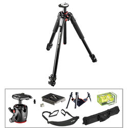 Manfrotto MT055XPRO3 Aluminum Tripod with MHXPRO-BHQ2 XPRO Ball Head with 200PL Quick Release System
