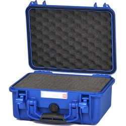 HPRC 2300F HPRC Hard Case with Cubed Foam Interior (Blue)
