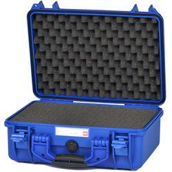 HPRC 2400F HPRC Hard Case with Cubed Foam Interior (Blue)