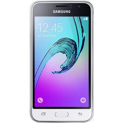 Samsung Galaxy J1 Duos J120M 2nd Gen 8GB Smartphone (Region Specific Unlocked, White)