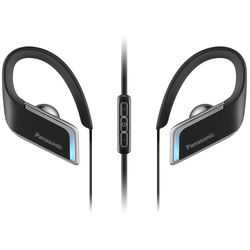 Panasonic Wings Bluetooth Earbuds with LED Lighting (Black)