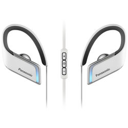 Panasonic Wings Bluetooth Earbuds with LED Lighting (White)