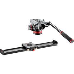 "Manfrotto Camera Slider 60cm & 502HD Pro Video Head Kit (23.6"")"