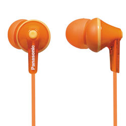 Panasonic ErgoFit In-Ear Earbud Headphones (Orange)