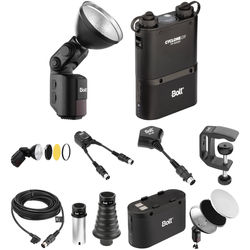 Bolt VB-22 Bare-Bulb Flash and Accessory Kit