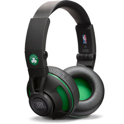 JBL Synchros S300 NBA Edition On-Ear Headphones (Boston Celtics)