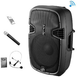 """Pyle Pro PPHP109WMU 10"""" 2-Way 1000W Bluetooth-Enabled PA Loudspeaker System"""