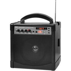 Pyle Pro 60W Portable Bluetooth Karaoke PA Speaker Amplifier, & Microphone System