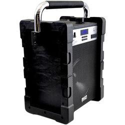 "Pyle Pro Jobsite Boombox - 100 Watt 8"" Bluetooth Portable Speaker System (Black)"