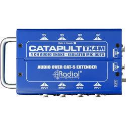 Radial Engineering Catapult TX4MCat 5 Snake (4 Channels)