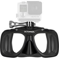 OCTOMASK Scuba Mask for GoPro Camera (Black)