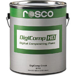 Rosco DigiComp HD Digital Compositing Paint (Green, 1-Gallon)