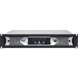 Ashly NXE Series 2-Channel Networkable Multi-Mode Power Amplifier with OPAES2, OPDAC4 & OPDante Cards