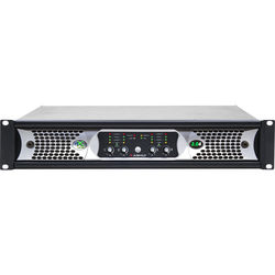 Ashly NXE Series 4-Channel Networkable Multi-Mode Power Amplifier with OPAES2, OPDAC4 & OPDante Cards