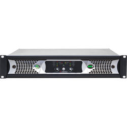 Ashly NXE Series 2-Channel Networkable Multi-Mode Power Amplifier with OPAES2 & OPDAC4 Cards