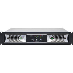 Ashly nXp3.0 2-Channel Multi-Mode Network Power Amplifier with Protea DSP Software Suite, AES3 Inputs, & CobraNet Digital Interface