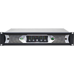 Ashly nXp3.0 4-Channel Multi-Mode Network Power Amplifier with Protea DSP Software Suite, AES3 Inputs, & Dante Digital Interface