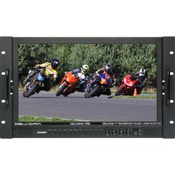 "Delvcam 17.3"" High Resolution 3G-SDI/HDMI Rackmount LCD Monitor"