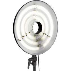"Impact FRC-RL19 3-Lamp Fluorescent Ring Light (19"")"