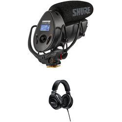 Shure VP83F LensHopper Shotgun Mic, Flash Recorder & SRH440 Headphone Kit