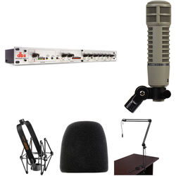 Electro-Voice RE20 Microphone & dbx 286s Preamp Broadcaster Kit