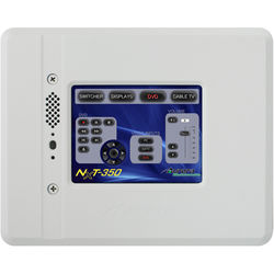 """Aurora Multimedia 3.5"""" In-Wall Color Touch Panel Controller (White/Black/Silver)"""