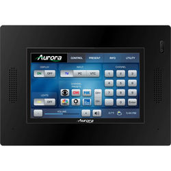 "Aurora Multimedia 5"" In-Wall HD Color Touch Panel Dual-Core Control System (Black)"