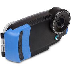 Watershot PRO Underwater Housing for iPhone 6 Plus/6s Plus (Black/Snorkel Blue)