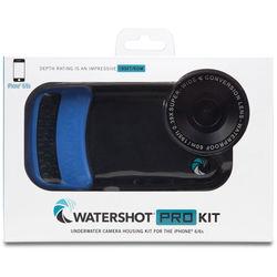 Watershot PRO Underwater Housing Kit for iPhone 6 Plus/6s Plus (Black/Snorkel Blue)