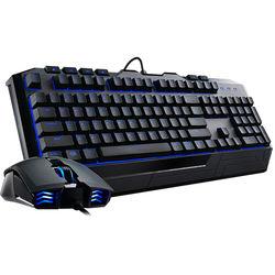Cooler Master Devastator II Blue LED Gaming Mouse and Keyboard Combo
