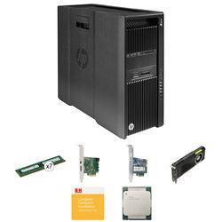 HP Z840 Series Turnkey Workstation with 2x Xeon E5-2630 v3, 64GB RAM, 512GB SSD, Quadro M5000, and Thunderbolt 2 Card