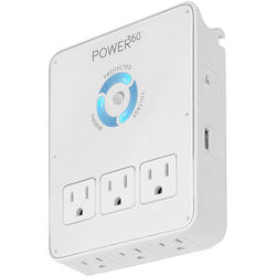 Panamax POWER360 6-Outlet Surge Protector Dock