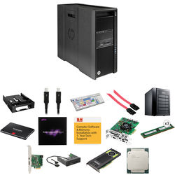 B&H Photo PC Pro Workstation Dual 8-Core with Avid and 12TB RAID Media Storage