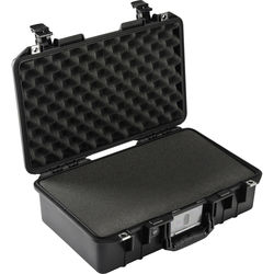 Pelican 1485Air Compact Hand-Carry Case (Black, with Pick-N-Pluck Foam)